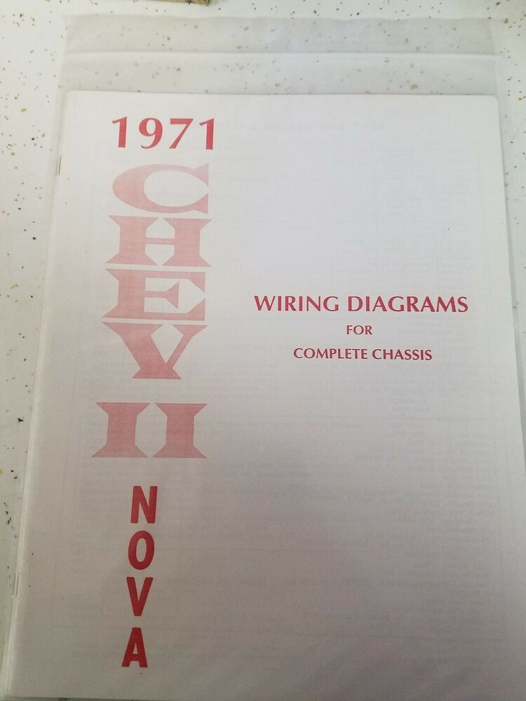 new 1971 chevy nova wiring diagram manual free. Black Bedroom Furniture Sets. Home Design Ideas