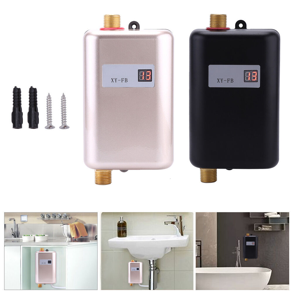 3400w Electric Tankless Instant Hot Water Heater Under