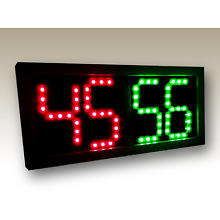 Remote Controlled Scoreboard Red/Green (5