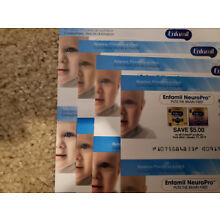4x $5 on all Enfamil Products (NeuroPro) Expires 12-31-2018, 4x $5 01-31-2019
