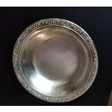 1895 Reed & Barton Solid Sterling Silver Candy Dish Nut Bowl 6