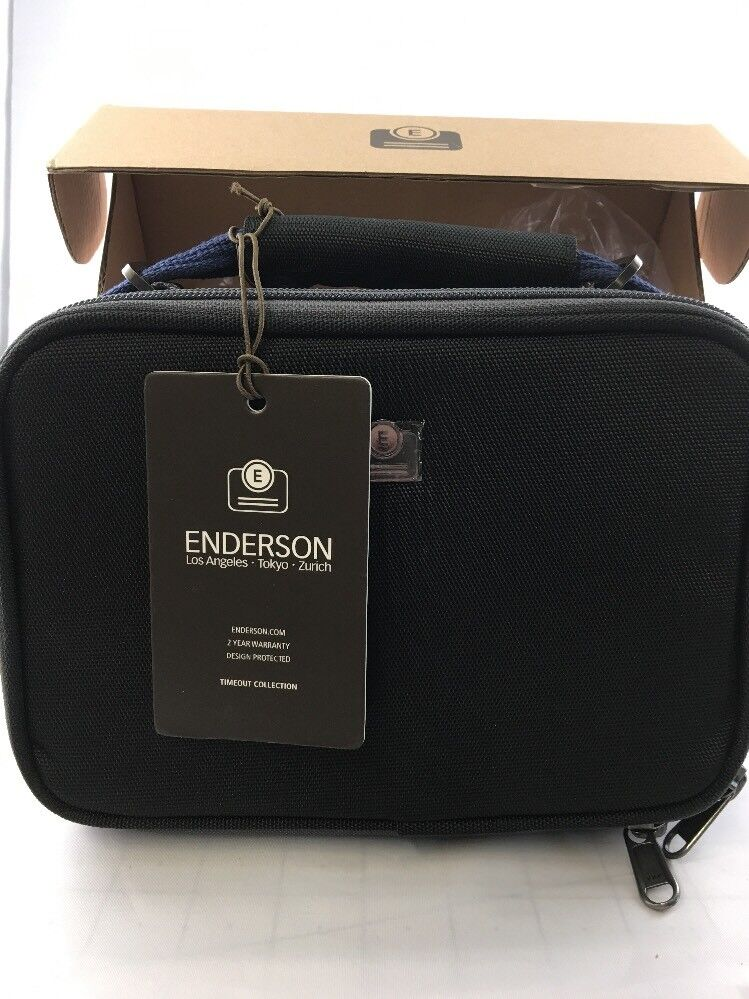 Enderson Bagware Men/'s Timeout Small Bag Imperial Blue