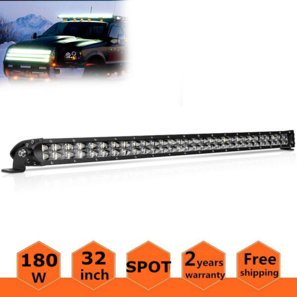 10D OSRAM 42Inch 3360W 4-Rows LED LIGHT BAR Combo Offroad Truck SUV vs 40/32 22
