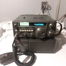 Yaesu FT-77 HF Transceiver with Yaesu FP-700 Power Supply
