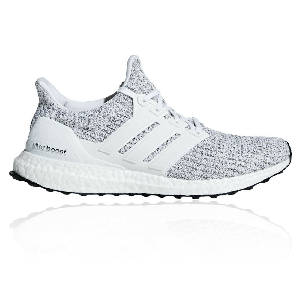 d970c010ce8a67 Details about adidas Mens UltraBOOST Running Shoes Trainers Sneakers Grey  White Sports