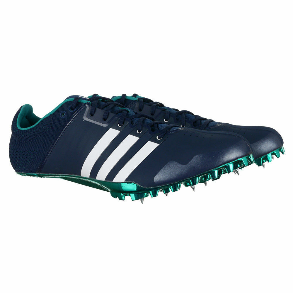 4e513f3d4cef Details about Adidas Adizero Prime SP AF5662 Spikes Track Shoe Sz 11.5 Navy White Green  team