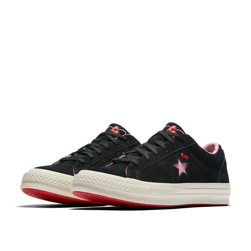 8c682d6a77c0 Details about CONVERSE X HELLO KITTY ONE STAR Low Top 162938C