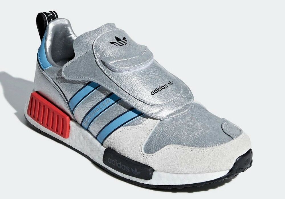 8032de935 Details about ADIDAS Men s  MICROPACER R1  G26778 Silver White RUNNING SHOES  - 6.5   39 1 3