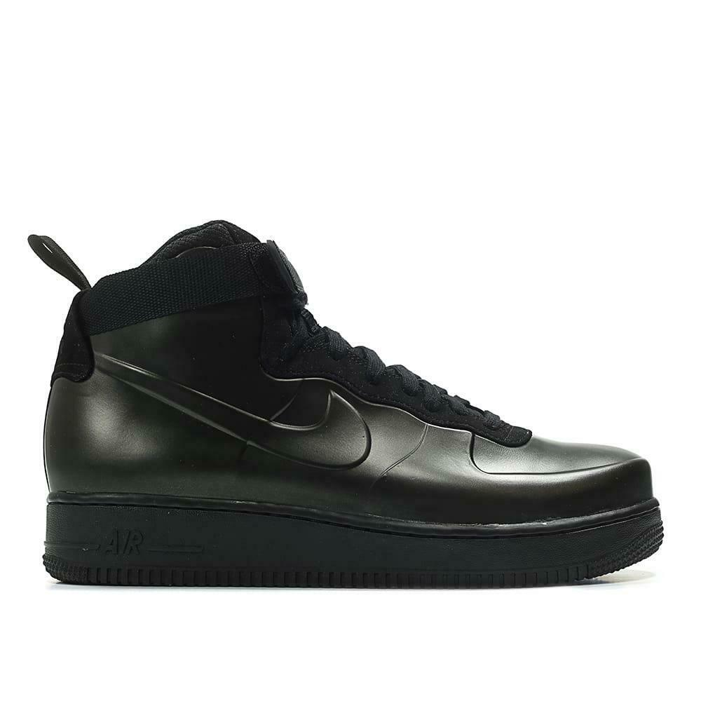 0f1afe6021b Details about Mens Nike Air Force 1 Foamposite Cup Black Trainers AH6771 001