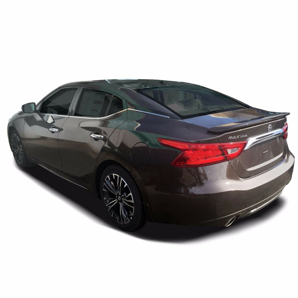 Details About Painted Spoiler Wing Factory Sport Style For Nissan Maxima 2016 2019