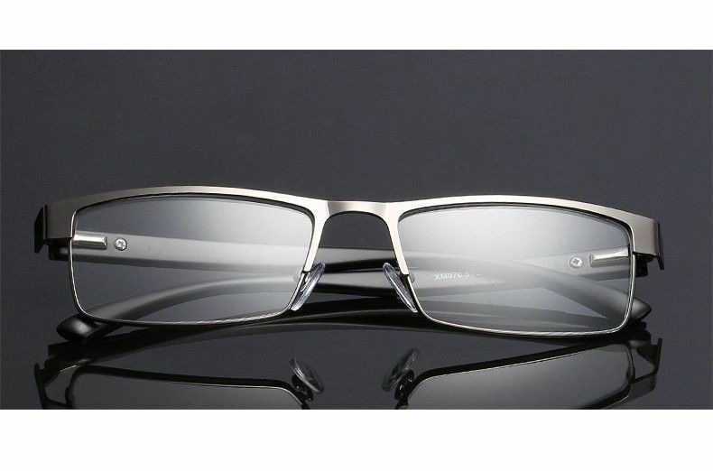 28e764bae4 Details about Mens Rectangular Business Reading Glasses Metal Readers 1.0  1.5 2.0 2.5 3.0 3.5