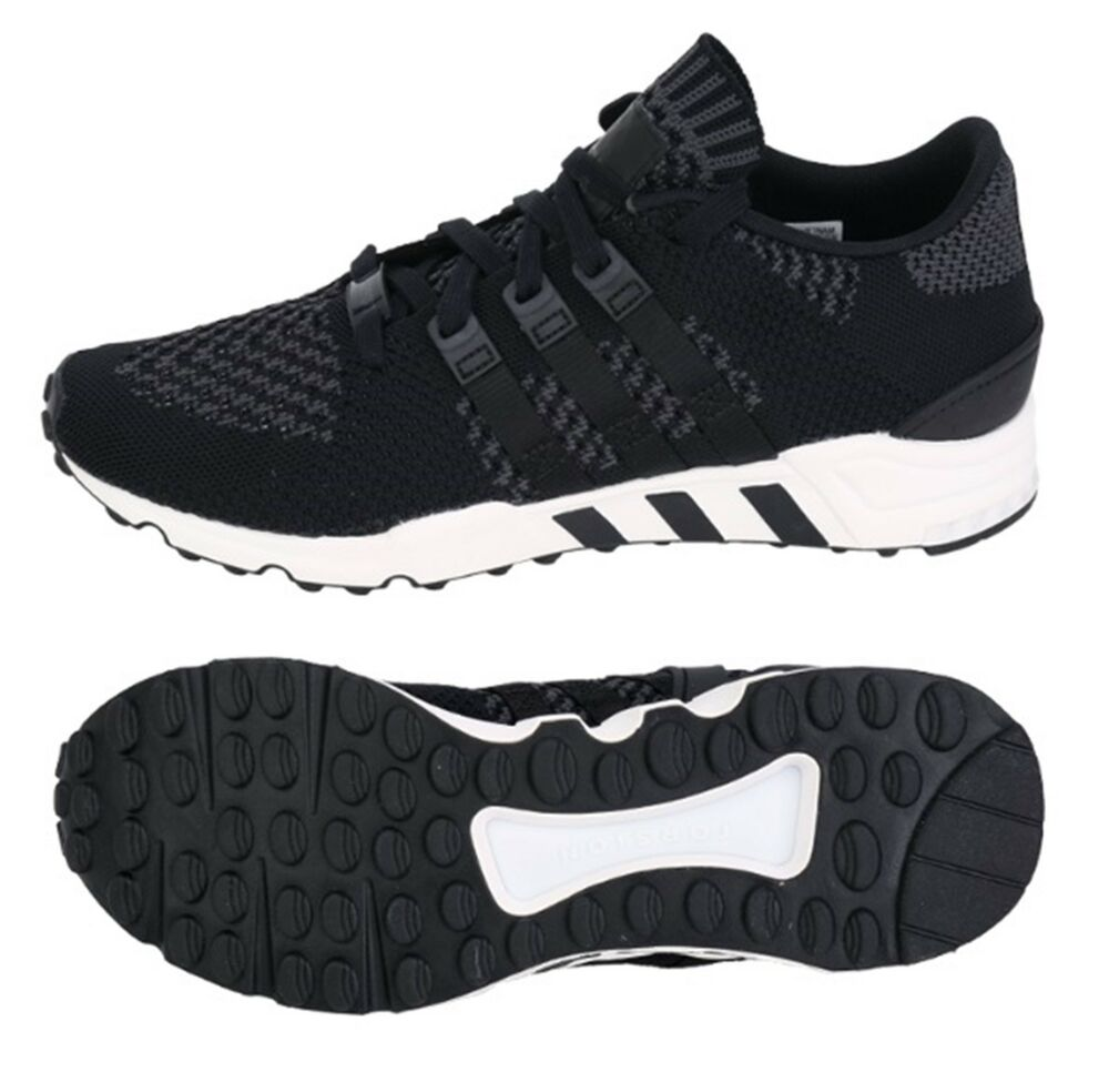 40e42df32cd4f Details about Adidas Men Originals EQT Support RF Shoes Running Black  Sneakers GYM Shoe BY9603
