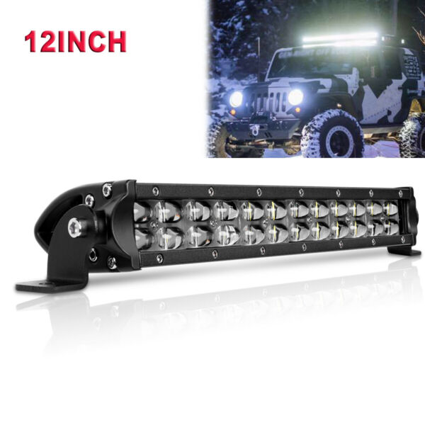 17inch 432W CREE LED Work Light Bar Combo Offroad Driving 4WD Truck ATV 16