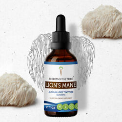 Secrets Of The Tribe Lion's Mane Tincture Alcohol-FREE