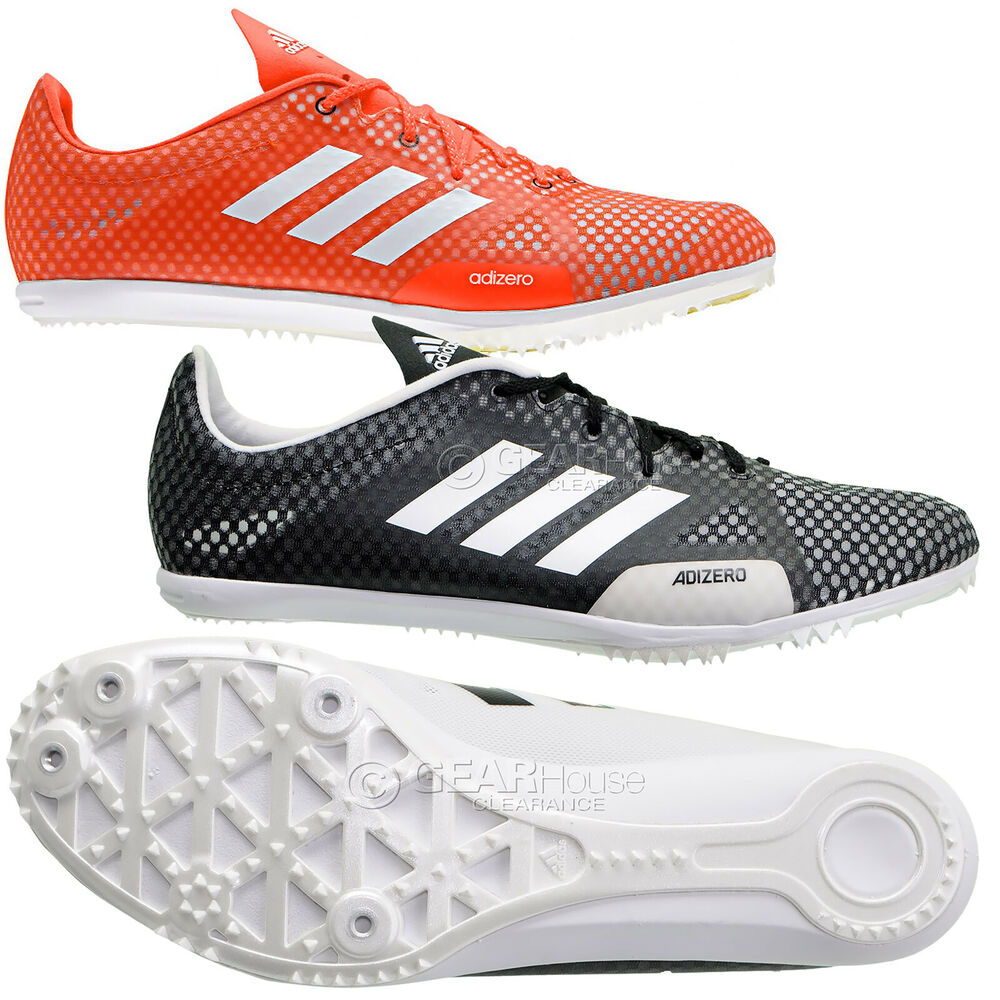 hot sale online 53aeb 78fc0 Details about New Adidas Adizero Ambition 4 Mens Track   Field Spikes  Distance Running Shoes
