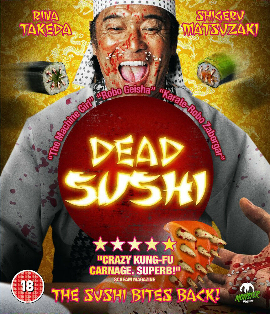 Details about Dead Sushi Blu-Ray | New & Sealed