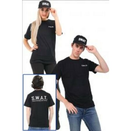 img-New Adult SWAT Printed T-Shirts Boys Kids Printed T-Shirts SWAT Hat 5/13 S/XXl