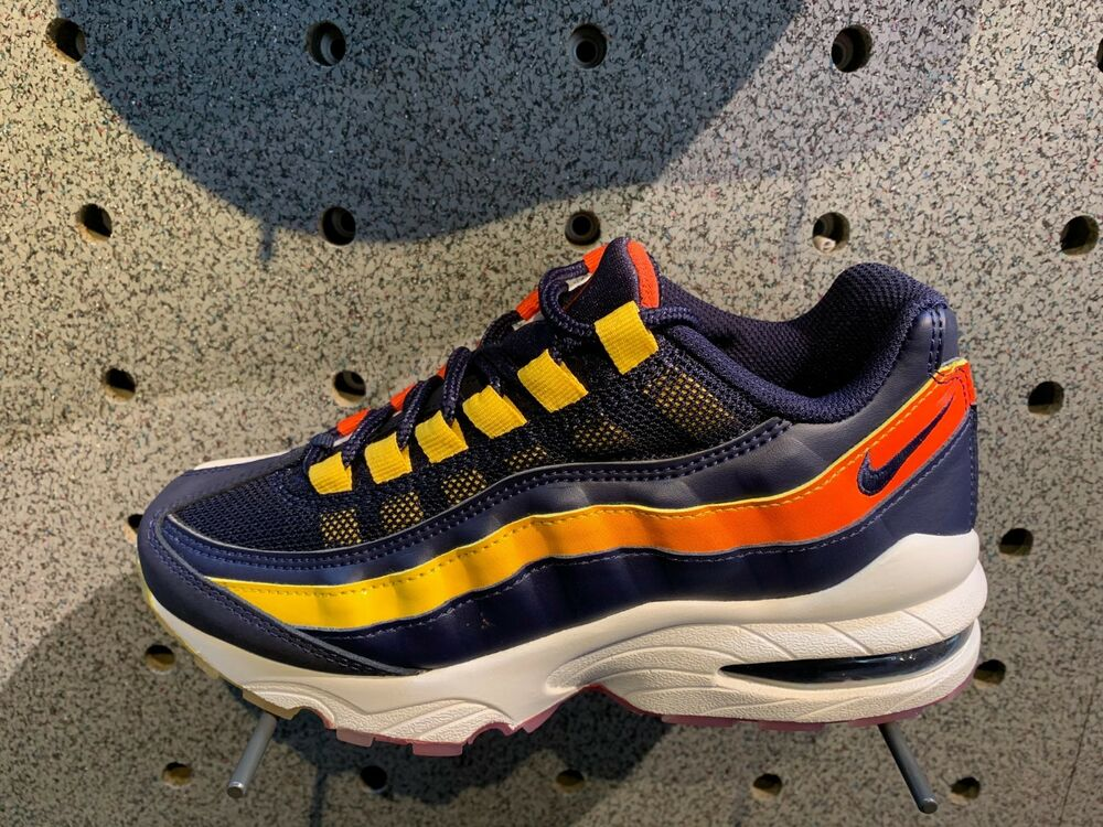 8d19470c51 Details about NIKE AIR MAX 95 Blackened Blue City Pride Houston Away c1 Sz  4Y-13 NEW V7939400