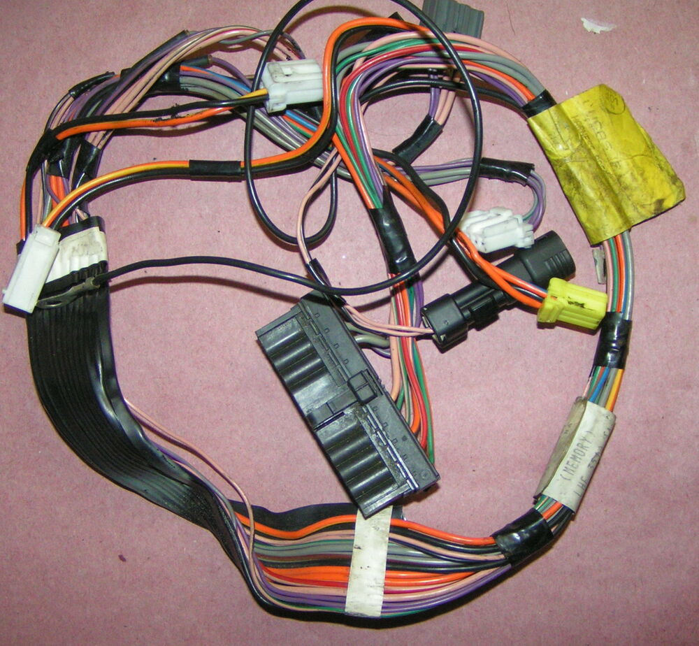 DRIVER'S SEAT WIRING HARNESS For '95 Jaguar XJS After VIN