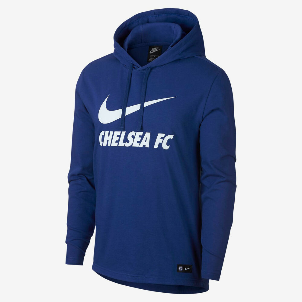 Details about NIKE CHELSEA FC CORE HOODIE 2018 19. 2cf7b60e5ffd6