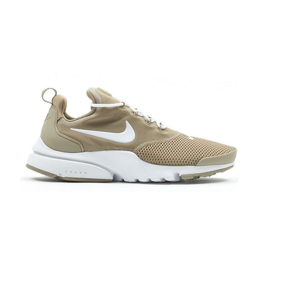 Details about Mens NIKE PRESTO FLY Khaki Running Trainers 908019 202 f5a927ef56