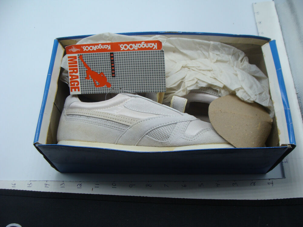 Details about original store stock shoes -- KANGAROOS womens white MIRAGE  USA 8 in box 806c9463c74