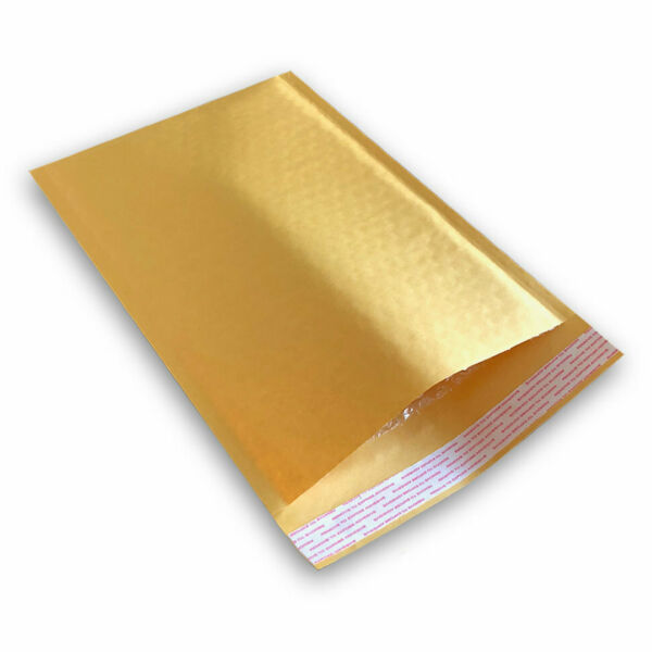 250 #0 6x10 KRAFT BUBBLE PADDED MAILERS SHIPPING SELF SEAL ENVELOPES 6