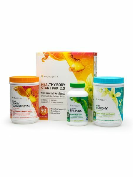 Youngevity Healthy Body Start Pak 2.0 - Limited  - Packaging may be damaged
