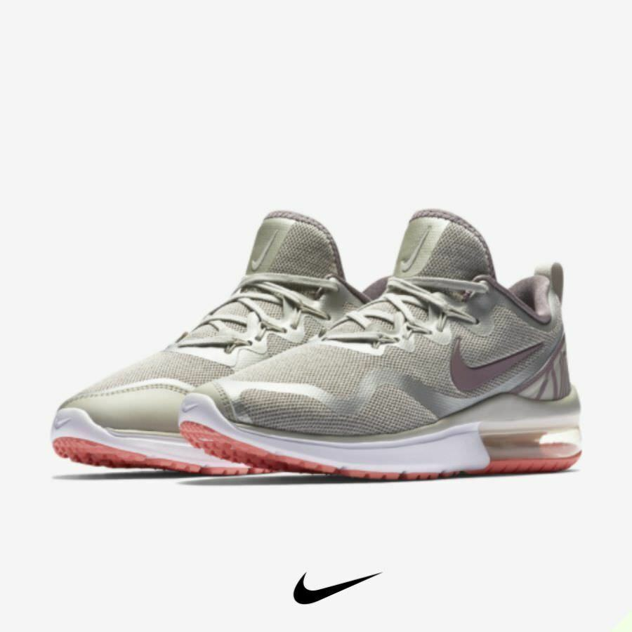 906af2929a3 Details about Nike Air Max Fury Women s Running Shoes Light Bone  Grey  AA5740-004 size 7.5