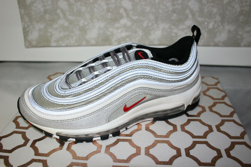newest a5ae4 083d8 Details about Nike Air Max 97 OG QS 884421-001 Silver Bullet 2016 2017,  Brand New Size 11.5