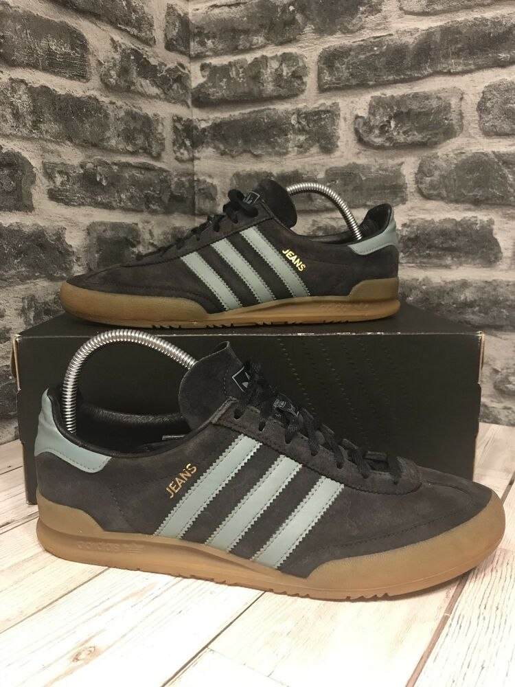 hot sales f4f1d 9a553 Adidas Originals Jeans MKII Trainers UK Size 8 Navy Blue Suede Argentina  S79997  eBay