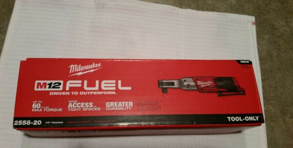 Milwaukee m12 fuel 1/2 ratchet