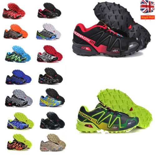 384202fa55e5 Details about Mens Salomon Speedcross 3 Athletic Running Sports Hiking Shoes