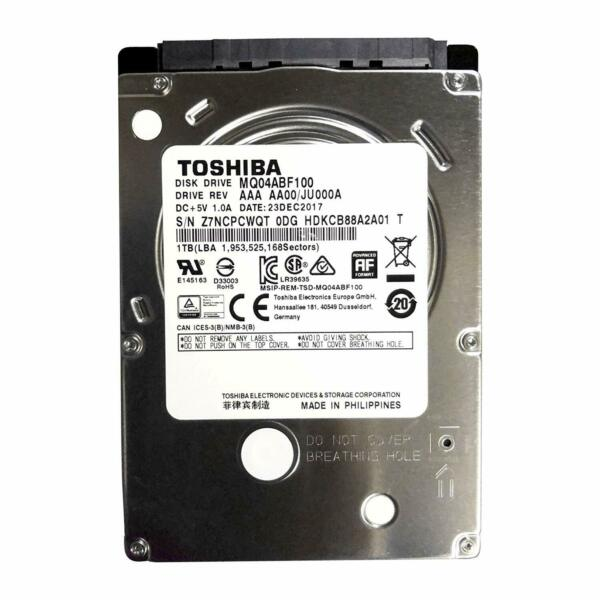 HARD DISK INTERNO NOTEBOOK 2,5 TOSHIBA 1TB 1000GB 128MB SATA 5400pm