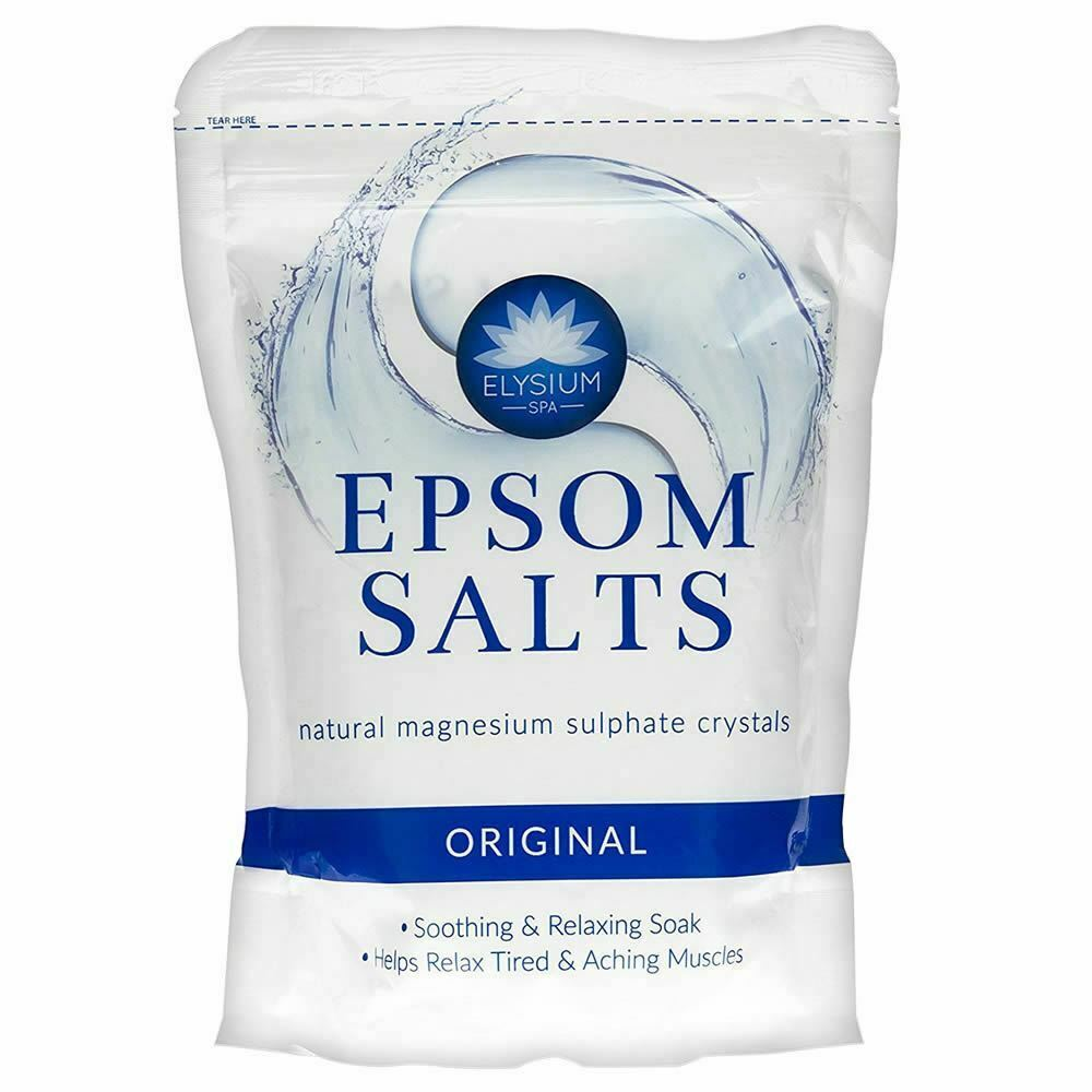 Health & Beauty 100% Pure Natural Magnesium Sulphate Epsom Salts Bath Soak Un Scented Spa Salt Moderate Price