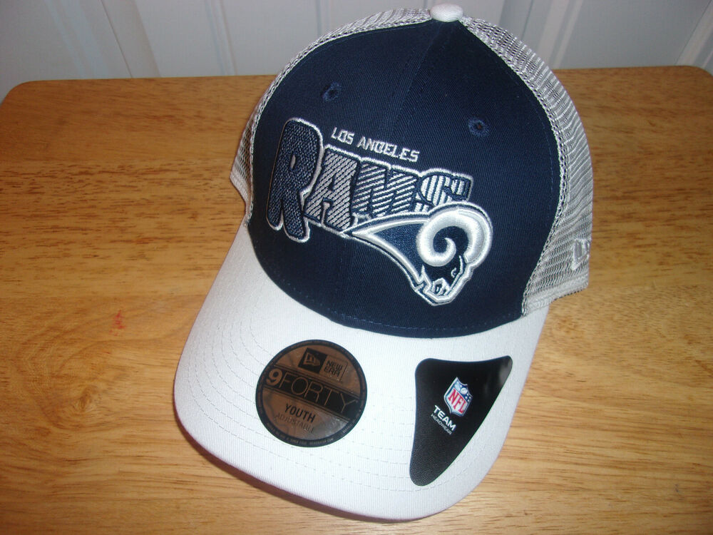 cheaper 14277 5490c Details about NFL Youth Los Angeles Rams Hat Cap NWT MSRP  21.99 Free  Shipping!