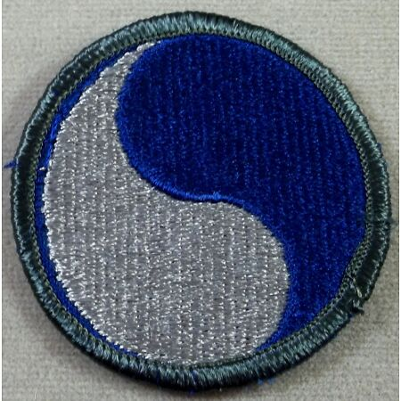 img-US Army 29th Infantry Division Full Color Merrowed Edge Patch