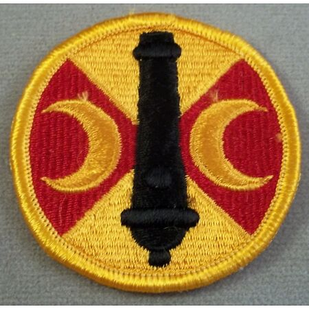 img-US Army 210th Field Artillery Brigade Full Color Merrowed Edge Patch