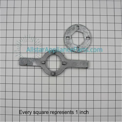 TB123A Spanner Wrench for Washing Machine Baskets