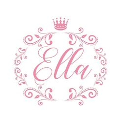 Personalised Any Name Princess Wall Decal 3D Art Stickers Vinyl Room Bedroom 20