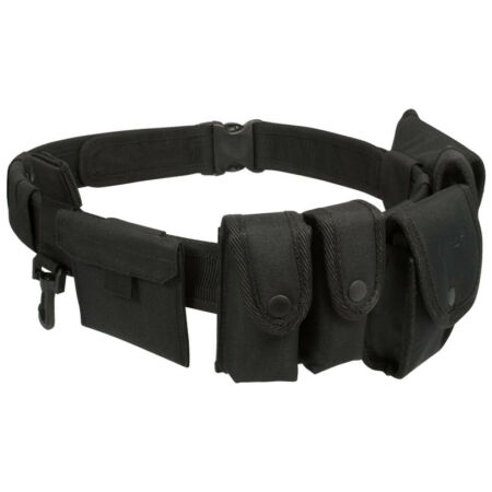 img-VIPER SECURITY POLICE GUARD TACTICAL BELT SYSTEM WITH POUCHES ADJUSTABLE SIZE
