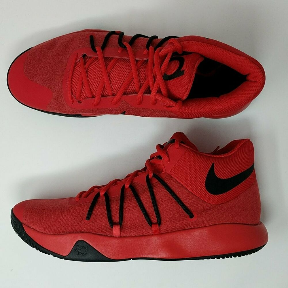 newest a1266 377b0 Details about NIKE KD TREY 5 V UNIVERSITY RED-BLACK-GYM RED SZ 14 (  897638-600 )