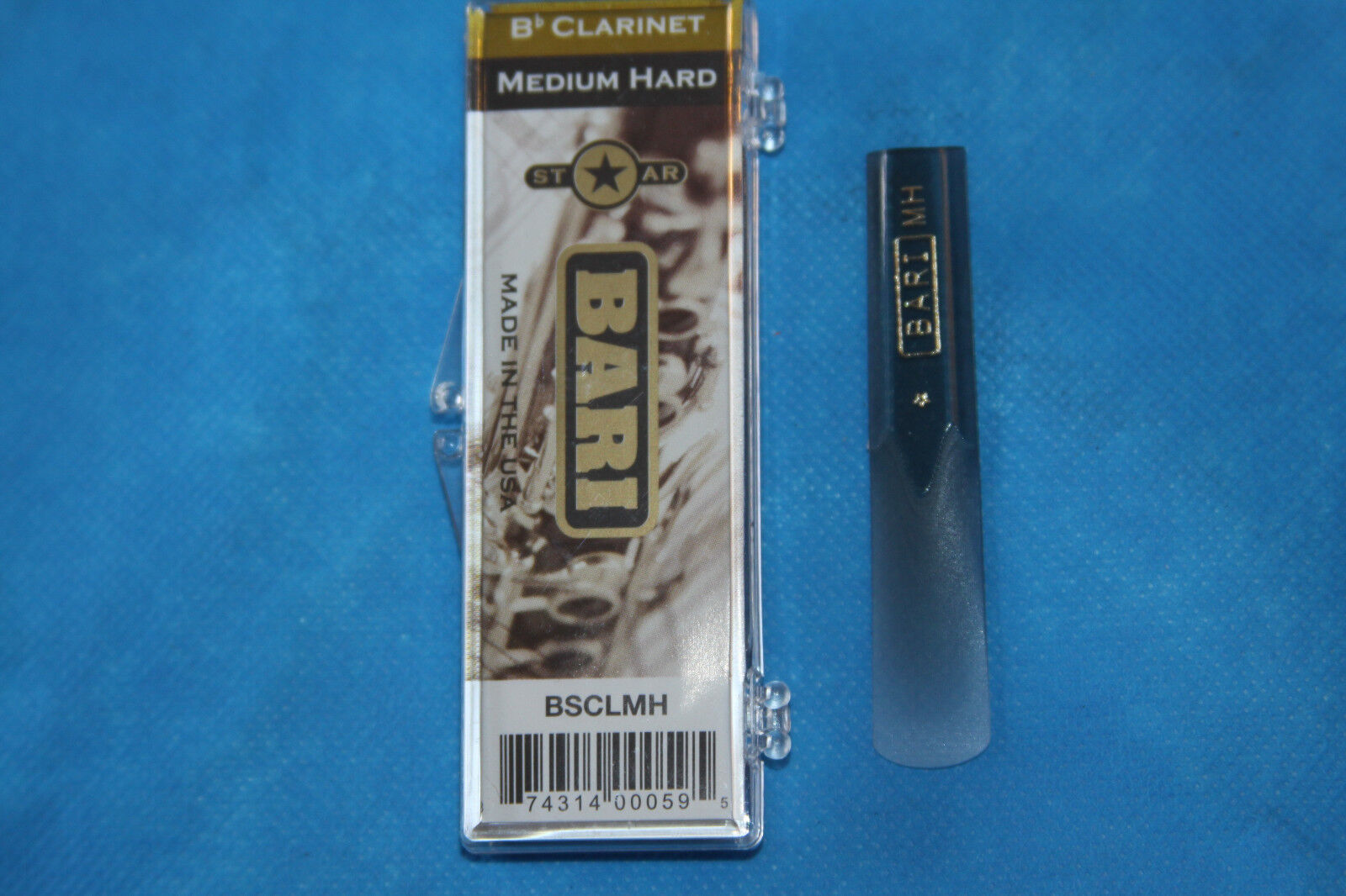 Bari Original Series Synthetic Bass Clarinet Reed Medium Strength,3.0-3.5,BRBCM