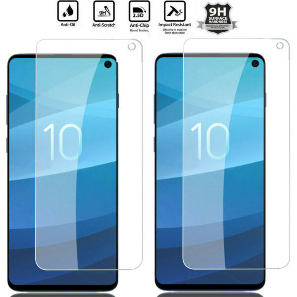 For Samsung Galaxy S10e Premium 100% 9H Tempered Glass Screen Protector HD Film