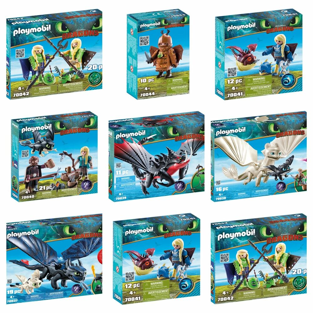 playmobil dreamworks dragons sets hiccup ruffnut