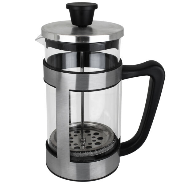 Alpina Kaffeebereiter Kaffeekanne Kaffeepresse French Press Glas Kaffee 1L NEU