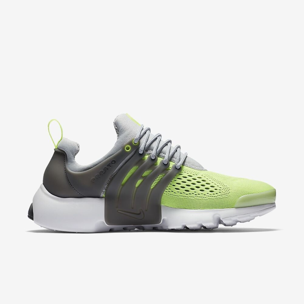 the latest b1e78 c653d Details about NEW 898020-004 MENS NIKE AIR PRESTO SNEAKERS ULTRA WOLD GREY  GREEN WHITE SZ 10