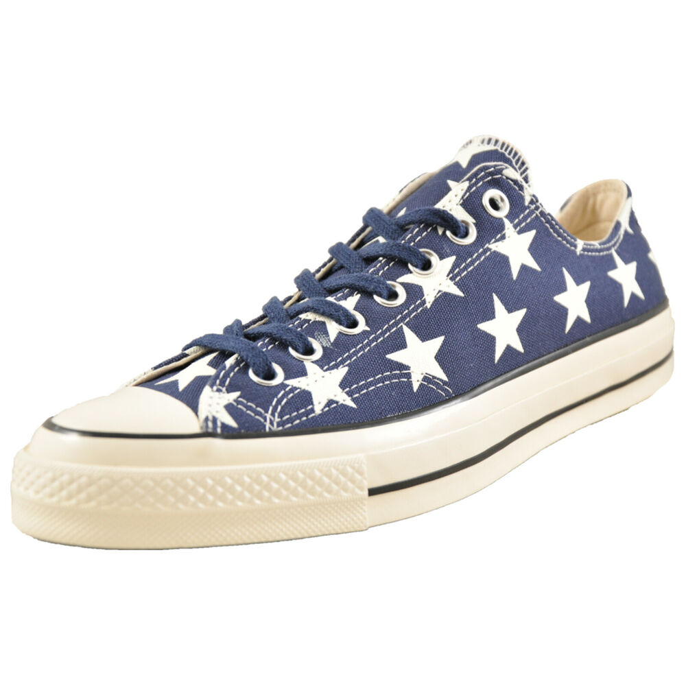 Converse Chuck Taylor All Star 70 Ox Homme Toile Lo Rétro Tennis Baskets Marine | eBay