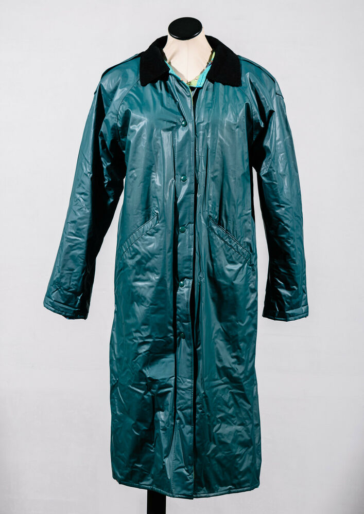 Misty Harbor Teal Pvc Flannel Lined All Weather Rain
