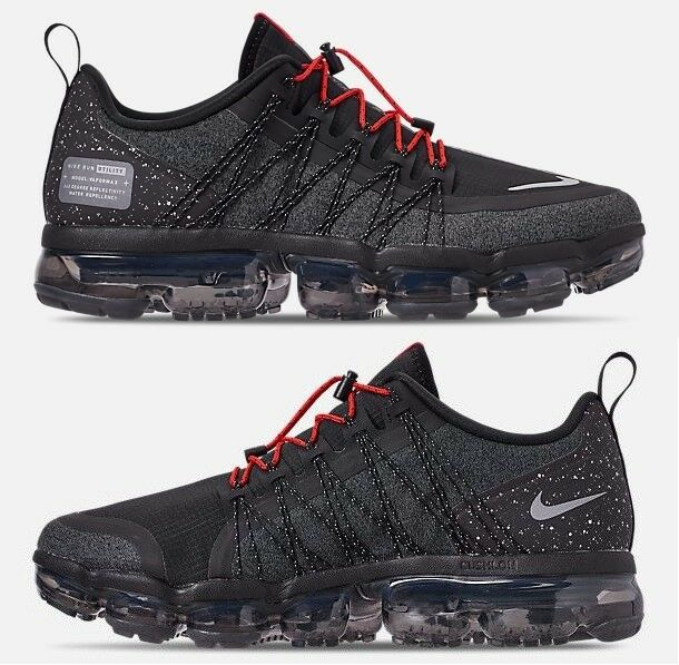 timeless design 1048d 70083 Details about NIKE AIR VAPORMAX RUN UTILITY MEN S RUNNING BLACK - REFLECT  SILVER - ANTHRACITE